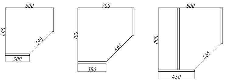 чертеж шкаф чертеж вместительного углового шкафа для небольшой